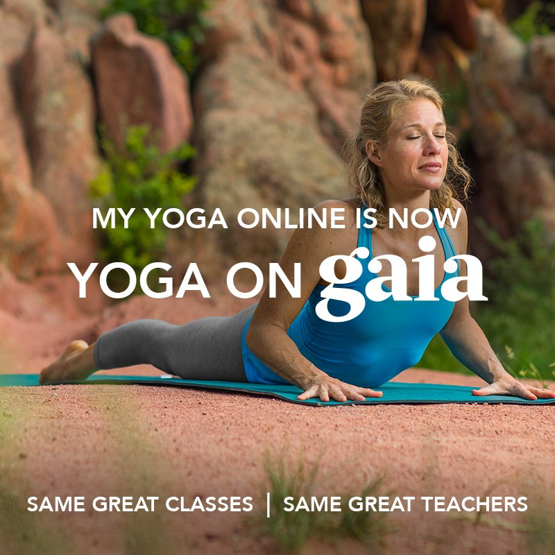 yoga on gaia