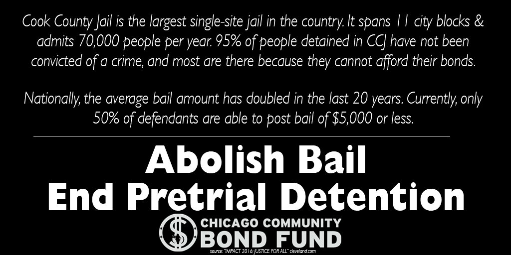 Chicago Community Bond Fund On Twitter Cook County Jail Is The