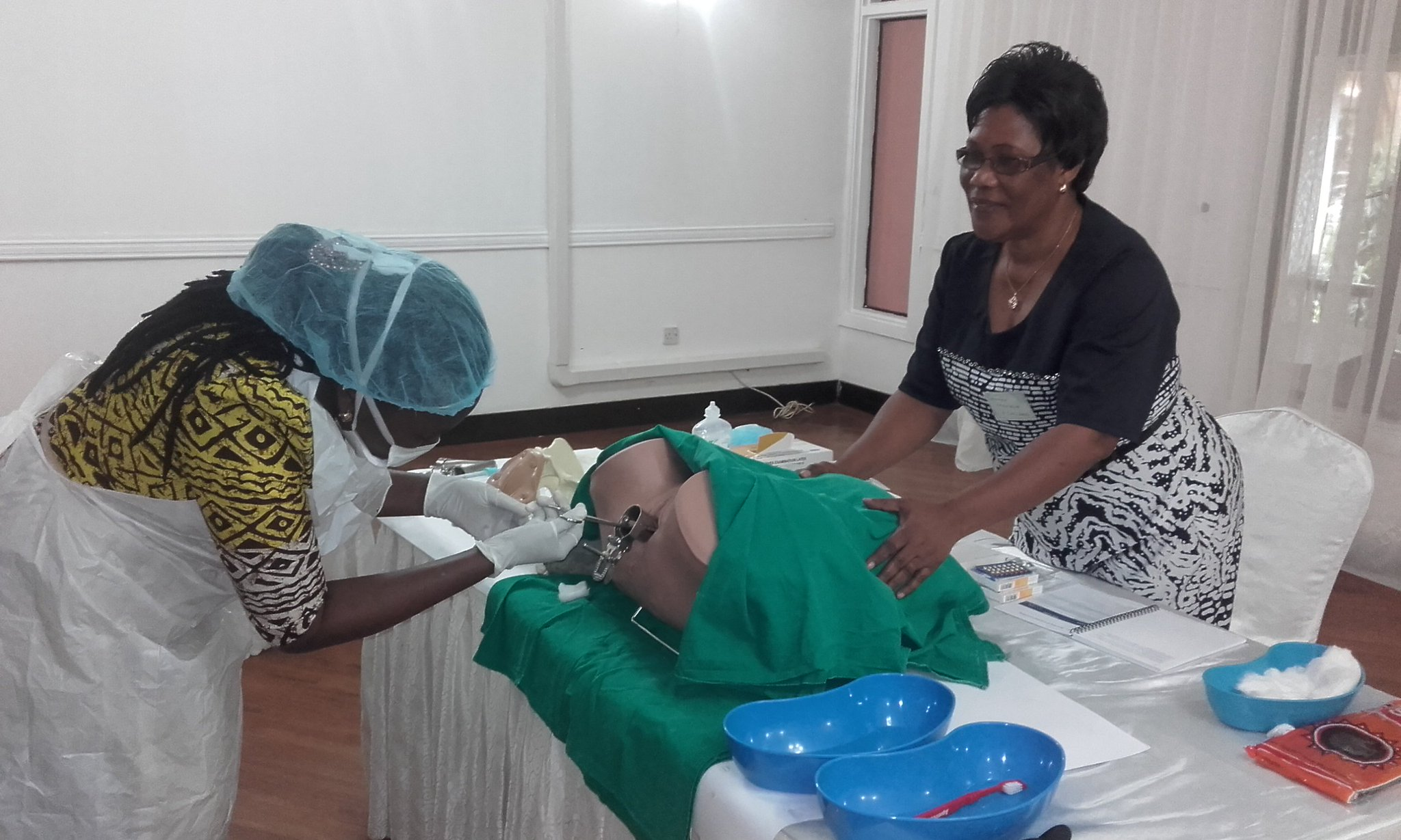 Learning Manual Vacuum Aspiration on @RCObsGyn #LeadingSafeChoices postabortion care training in Tanzania https://t.co/km1yG3F85q