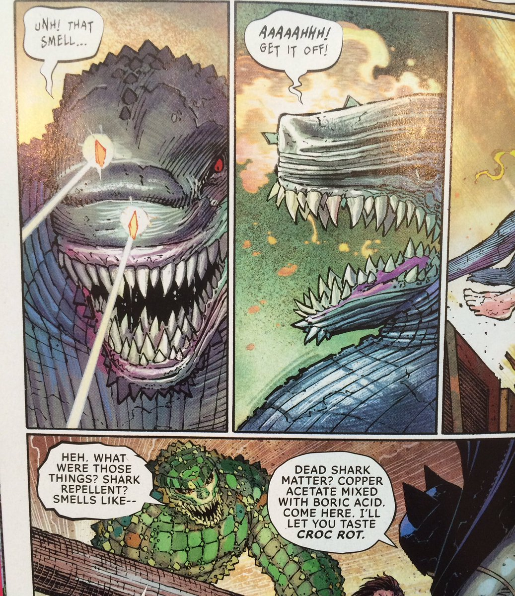 Strange Adventures On Twitter Dig This Folks Bat Shark Repellent Spray Is Now Canon Thanks To Ssnyder1835 All Star Batman Newcomicbookday