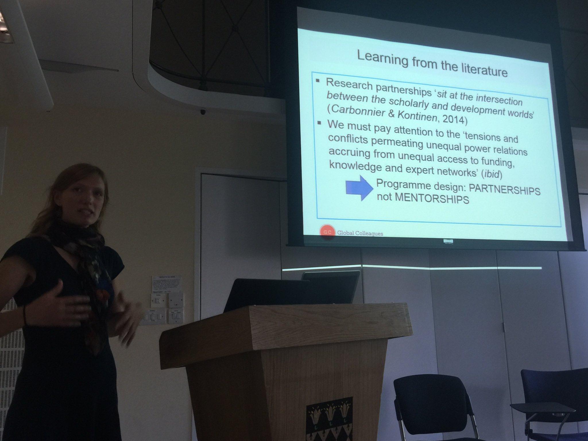 #DSA2016 #P68 #Partnership #Power Ruth Blackshaw on collaborative academics partnerships North-South; +/- senior https://t.co/hgoOVww0d0