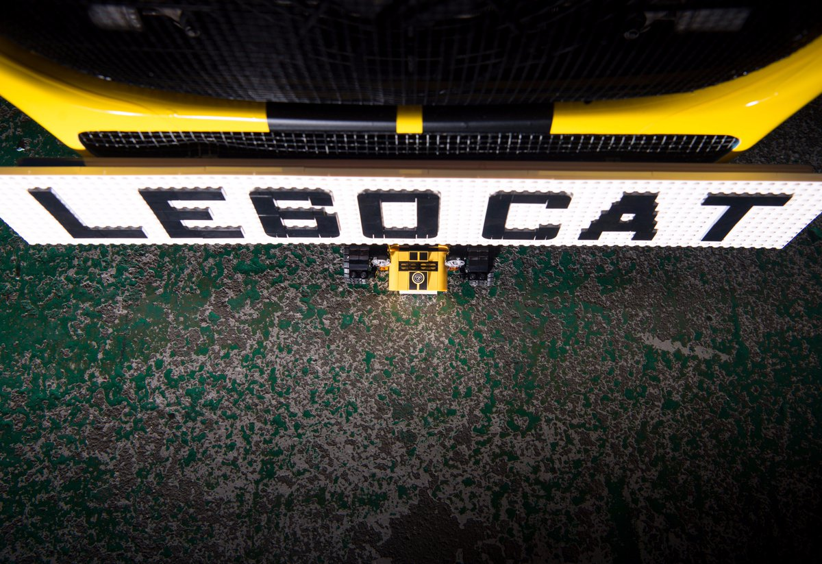 Our @LEGO_Group Caterham is shy. Retweet and it'll come out for a sneak peak before the launch #CaterhamCars https://t.co/TO33NZmUum