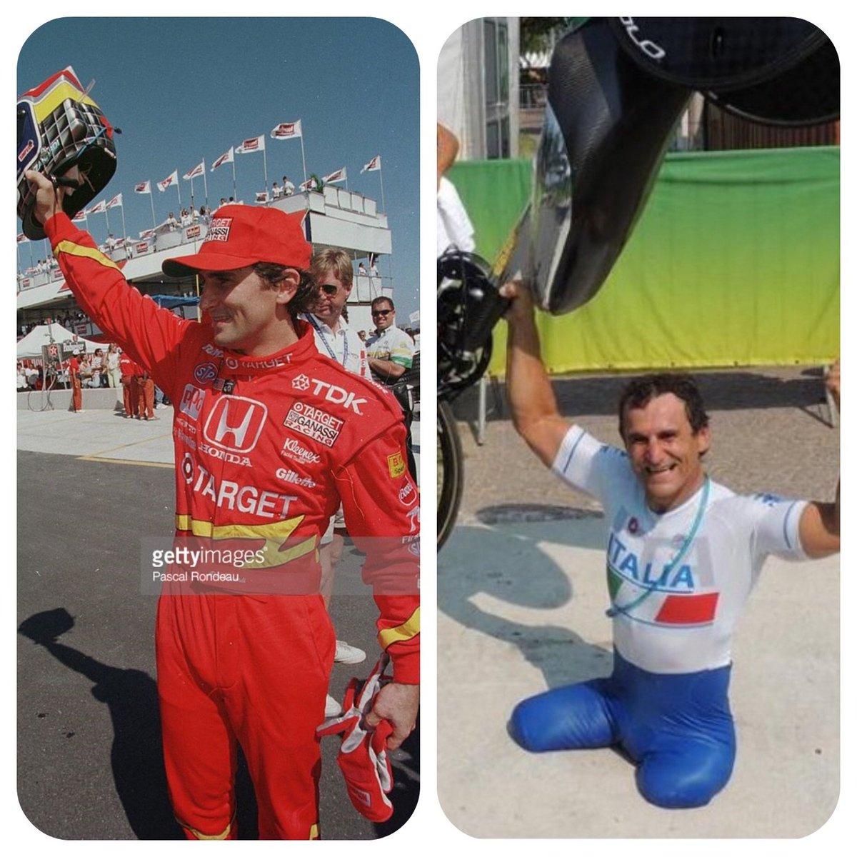 Rio de Janeiro, 1996: Zanardi pole na Indy Rio de Janeiro, 2016: Zanardi ouro na Paralimpíada https://t.co/CIcZdSdWeo