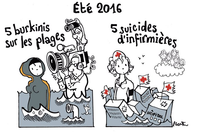HÔPITAUX : CINQ SUICIDES D´INFIRMIÈRES DURANT CET ÉTÉ.