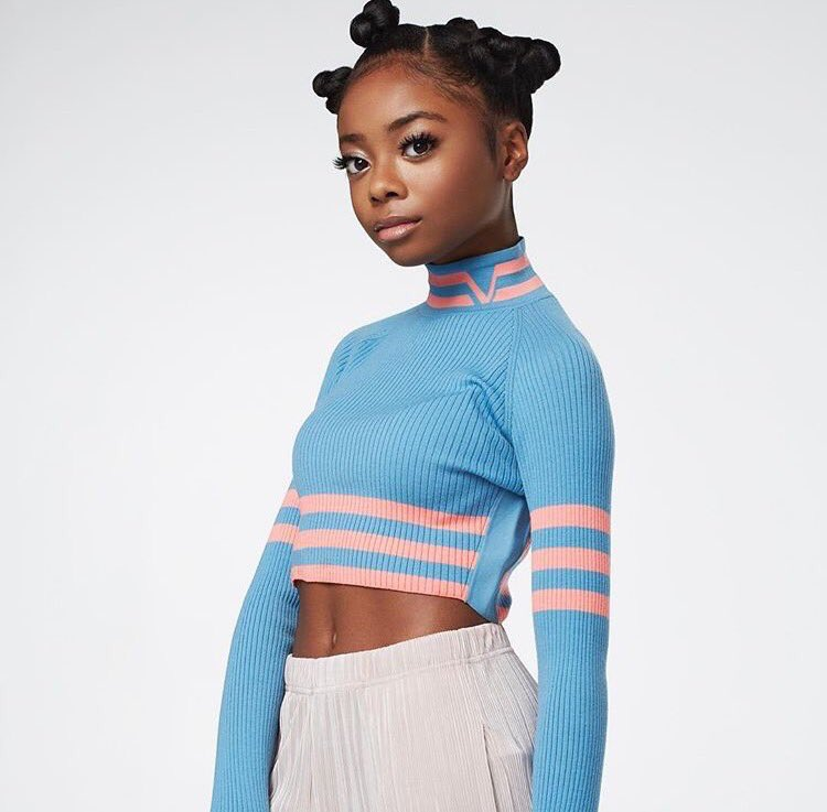 On twitter skai jackson snatching edges at the young age for Cuarto de zuri jessie