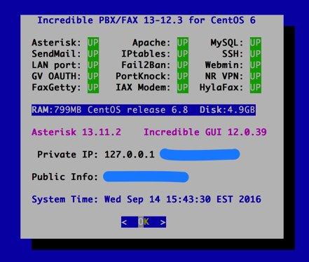 NEW - Incredible PBX CentOS & Ubuntu Updates   PIAF - Your