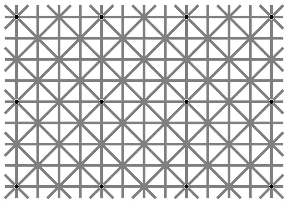 KDnuggets Top KDnuggets tweets, Sep 14-20: Why we need #DataScience: brain wont let us see 12 black dots at intersection