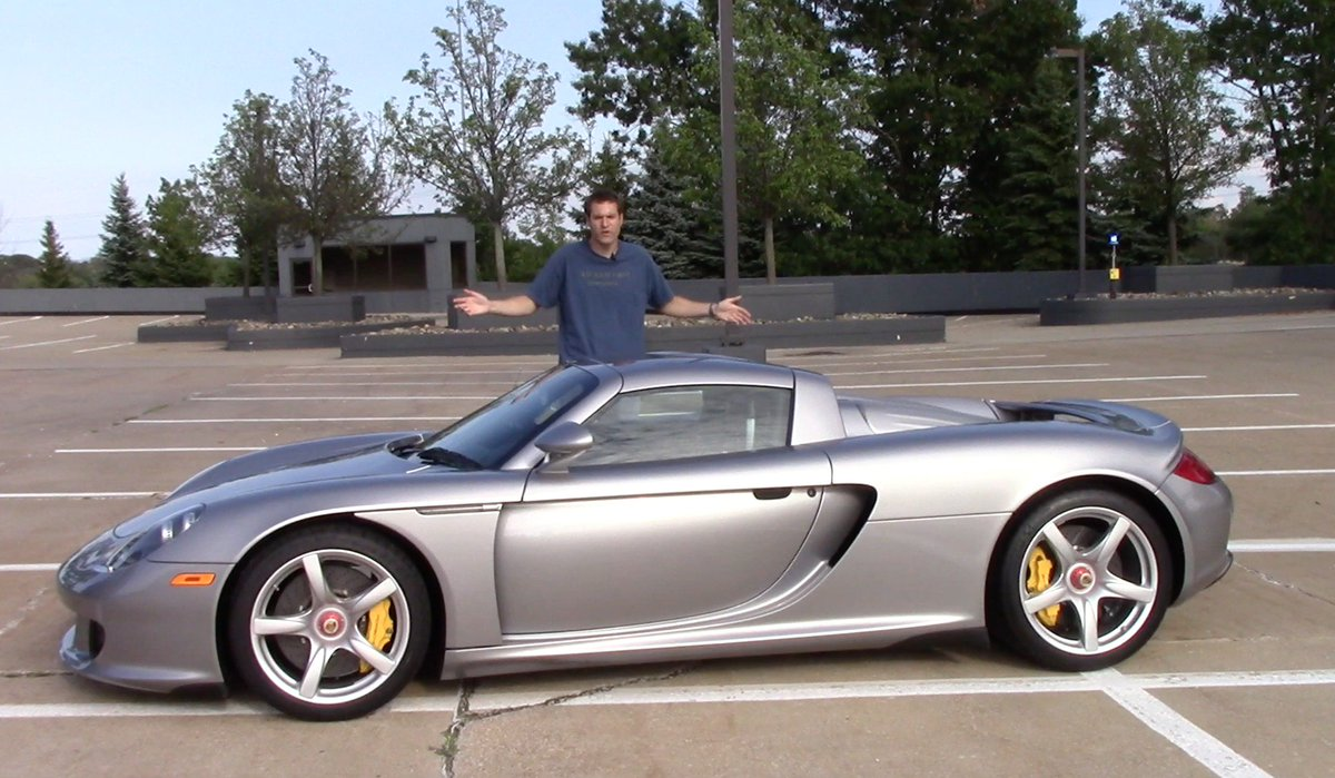 Doug Demuro On Twitter I Drove A Porsche Carrera Gt And It S The Greatest Car Ever Made Here S Why Https T Co Huejzrwymz
