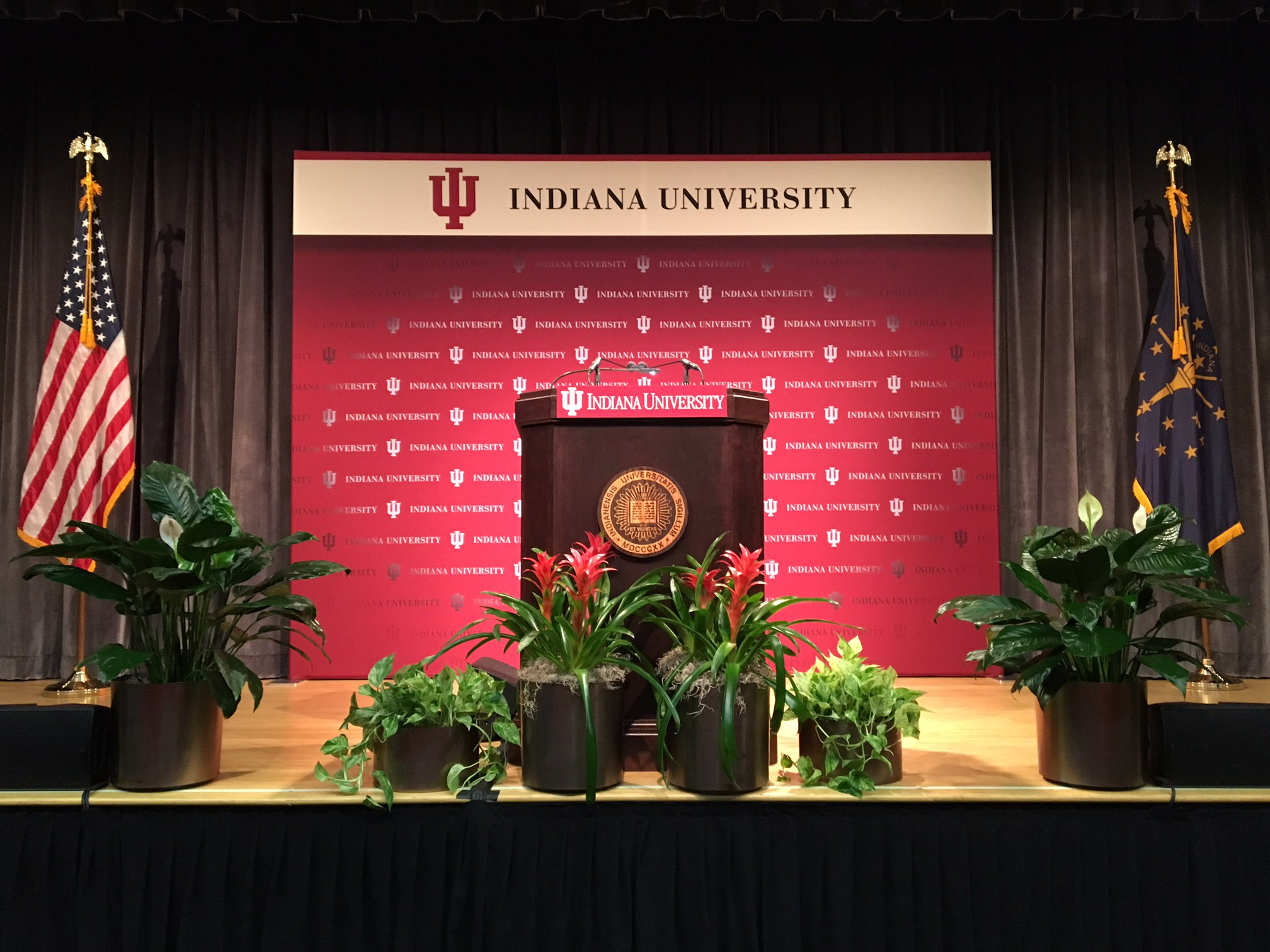 Thumbnail for IU President Michael A. McRobbie delivers  2016 State of the University address