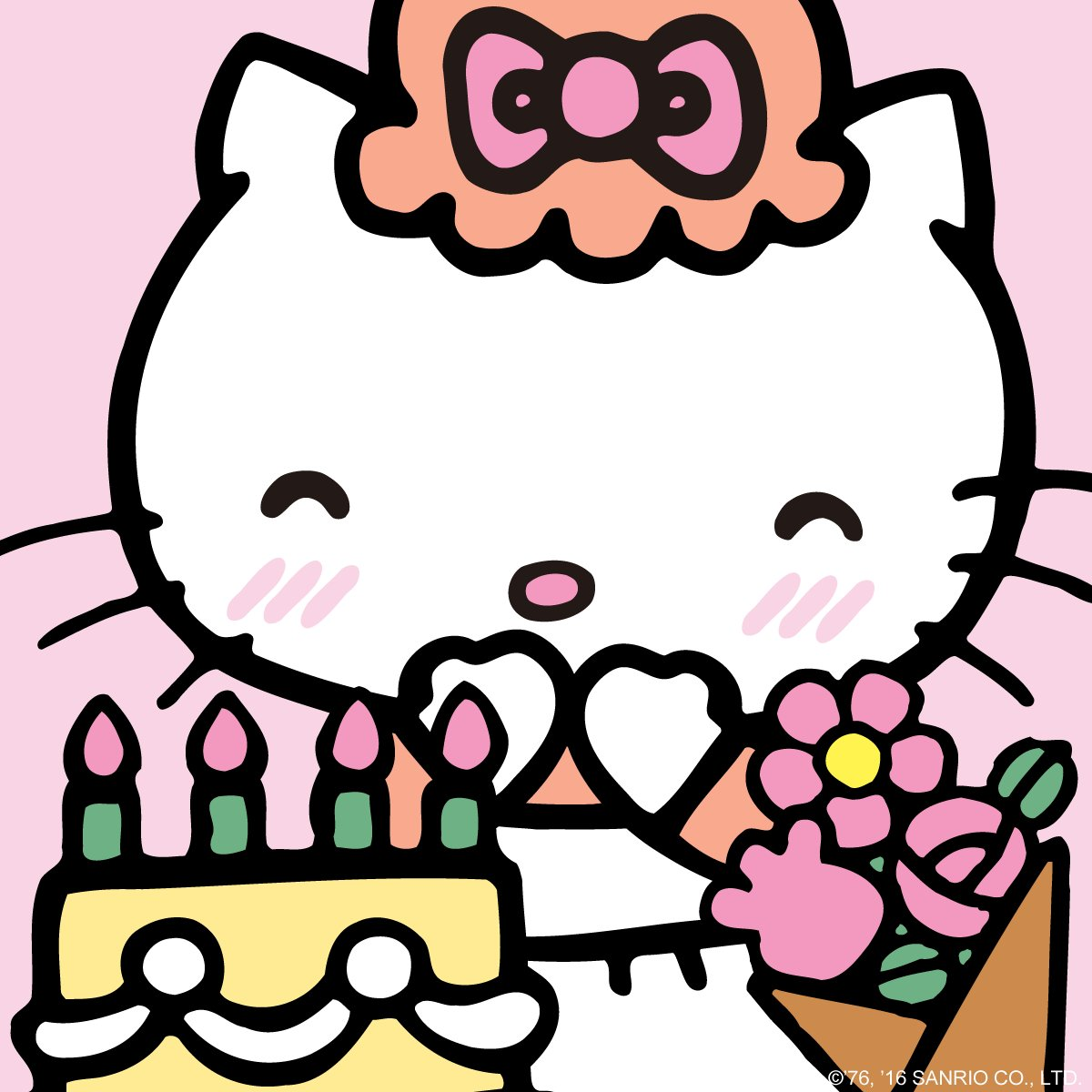 #HappyBirthday to @HelloKitty's mama, Mary White! https://t.co/KijKxfXjNP