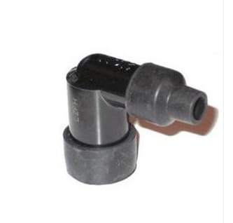 1x Spark Plug Caps Plug Bullet Fitting Screw into HT lead with 5k Resistor
