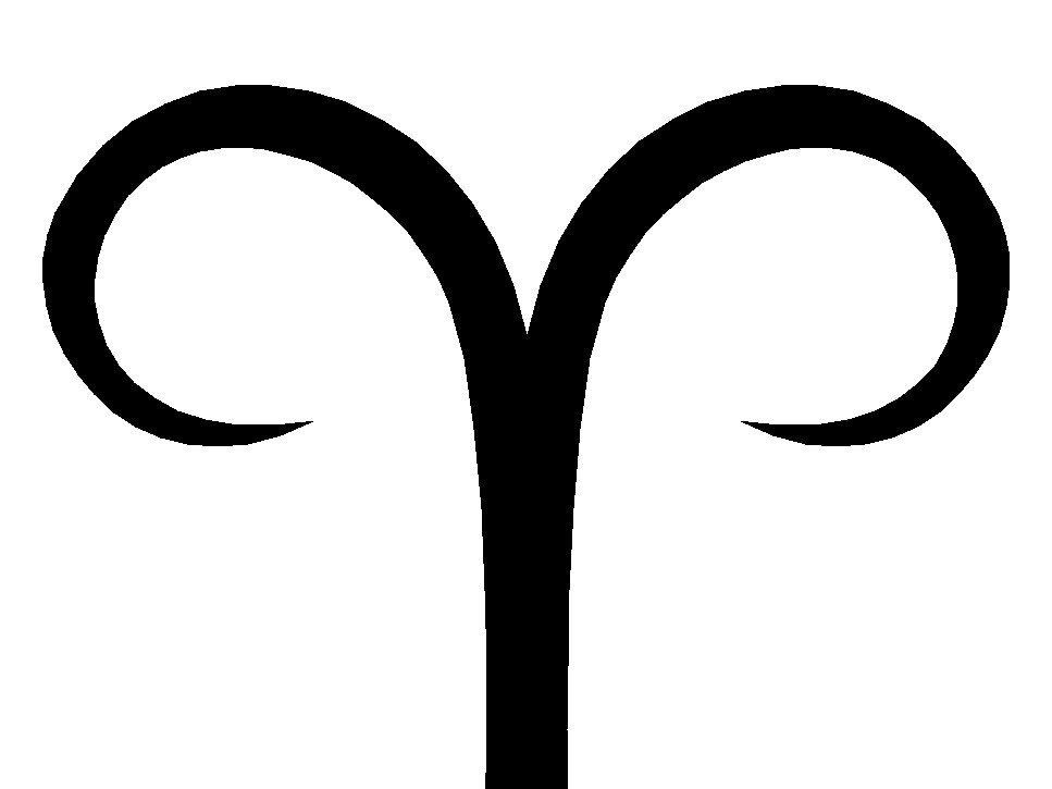 Aud On Twitter The Aries Symbol Just Looks Like A Uterus In