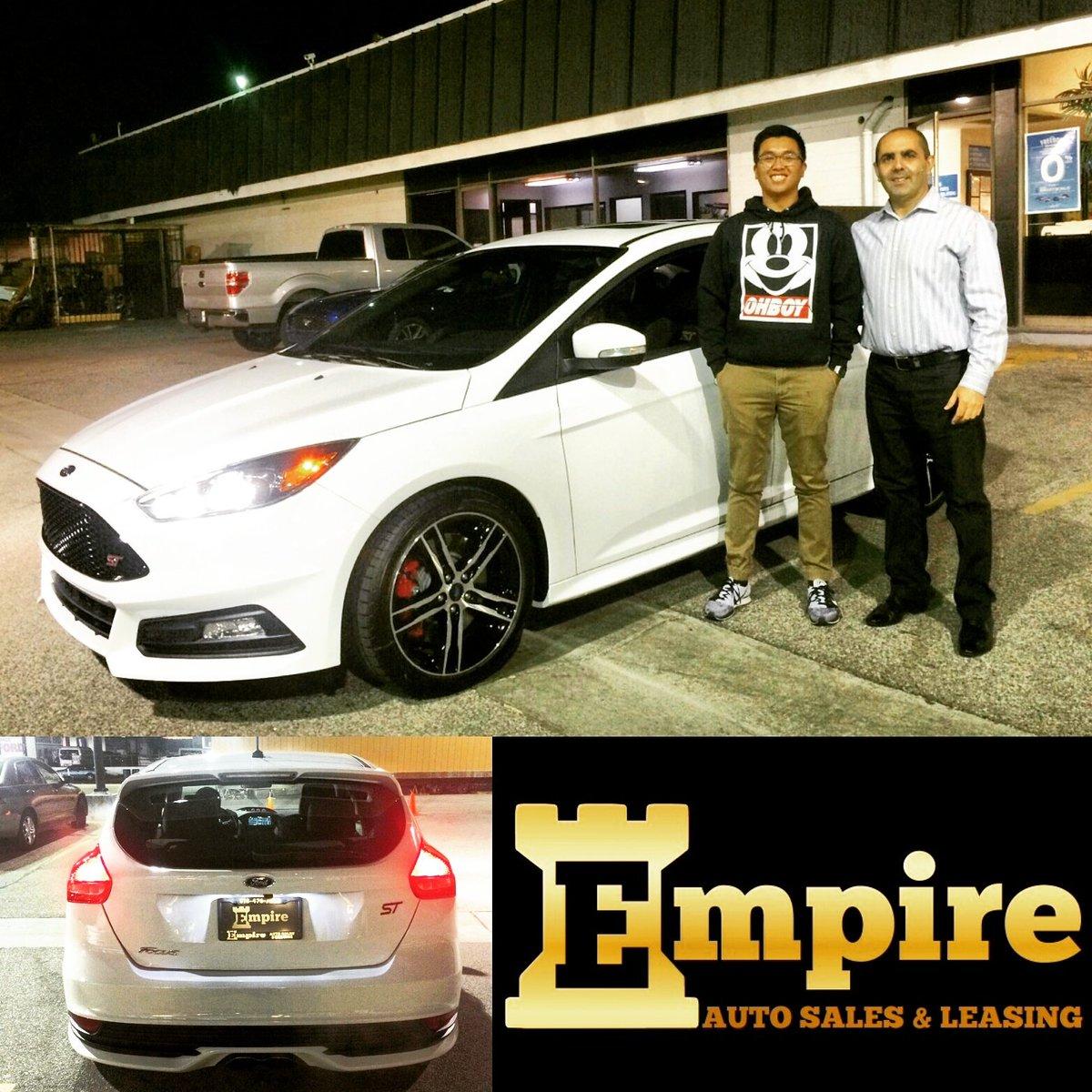 Empire Auto Sales >> Empire Auto Sales On Twitter Congratulations Josh On Your 2016