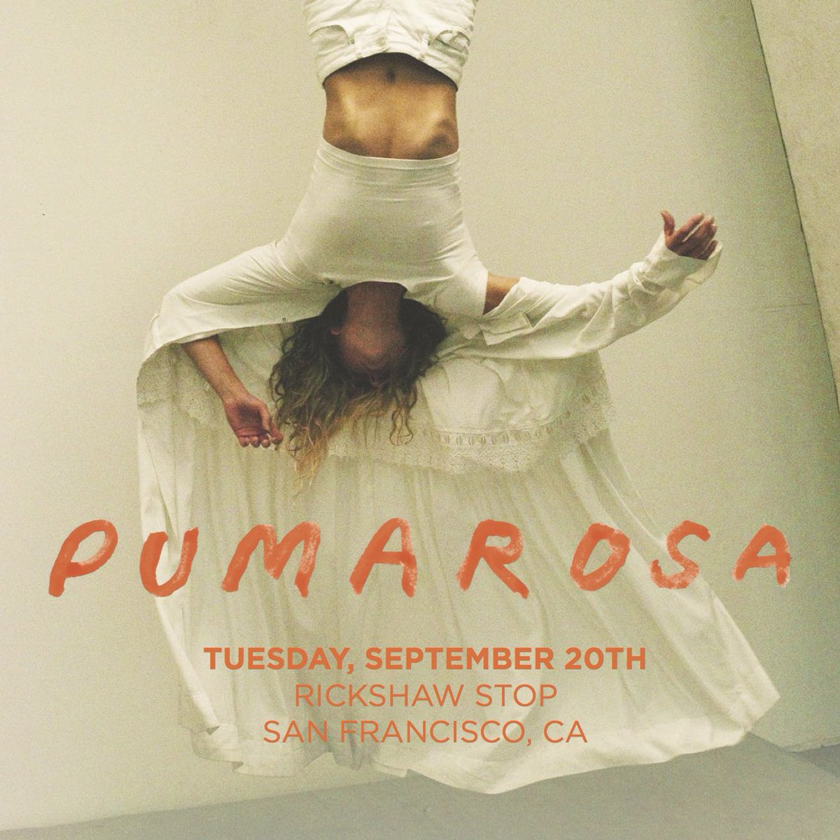 Retweet this for a chance to win 2 tix to see UK noise-pop band @pumarosamusic on 9/20! https://t.co/6OJadrSV8z