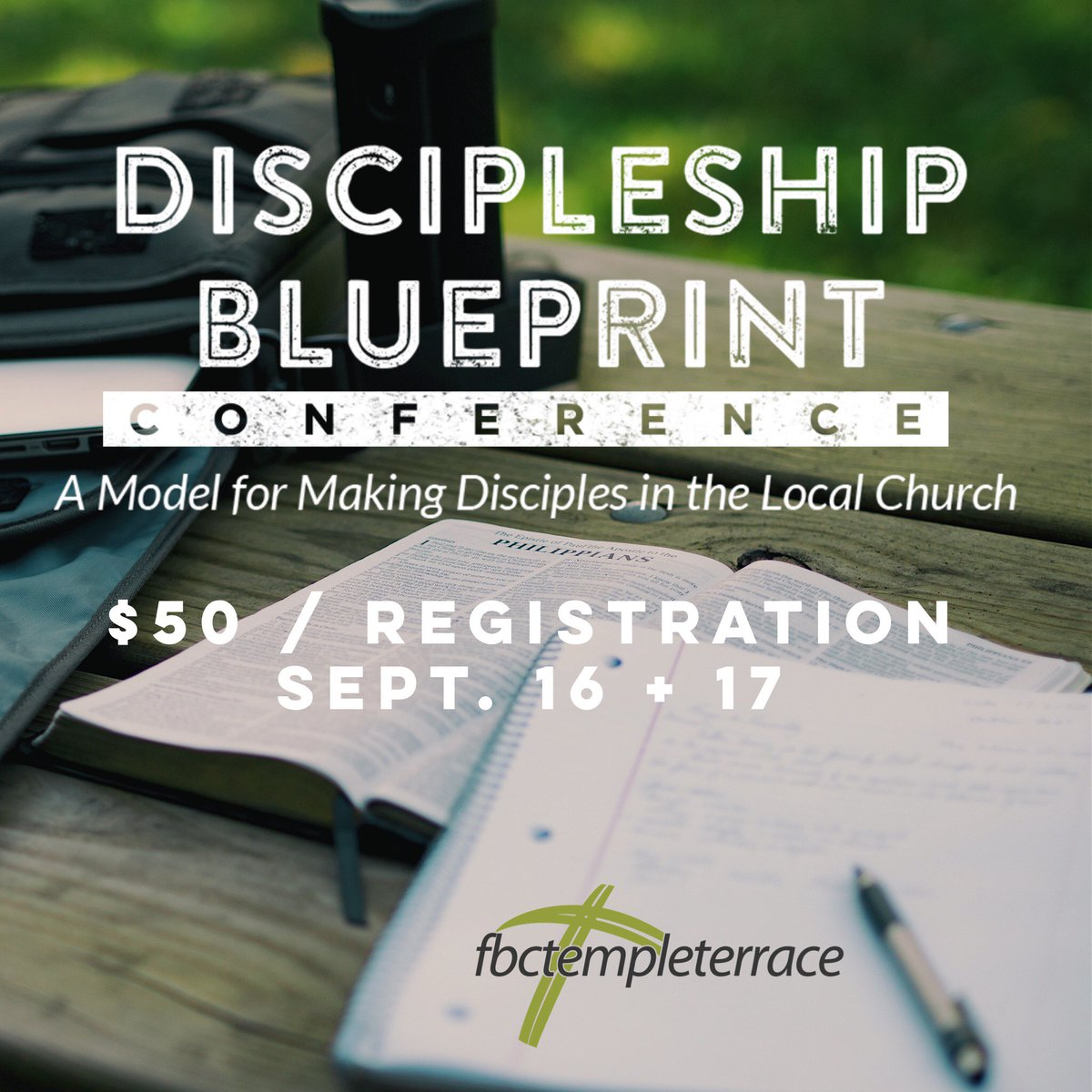 Fbc temple terrace on twitter getting excited for the discipleship fbc temple terrace on twitter getting excited for the discipleship blueprint conference this fri sat register now at httpst2abp5t5orm malvernweather Image collections