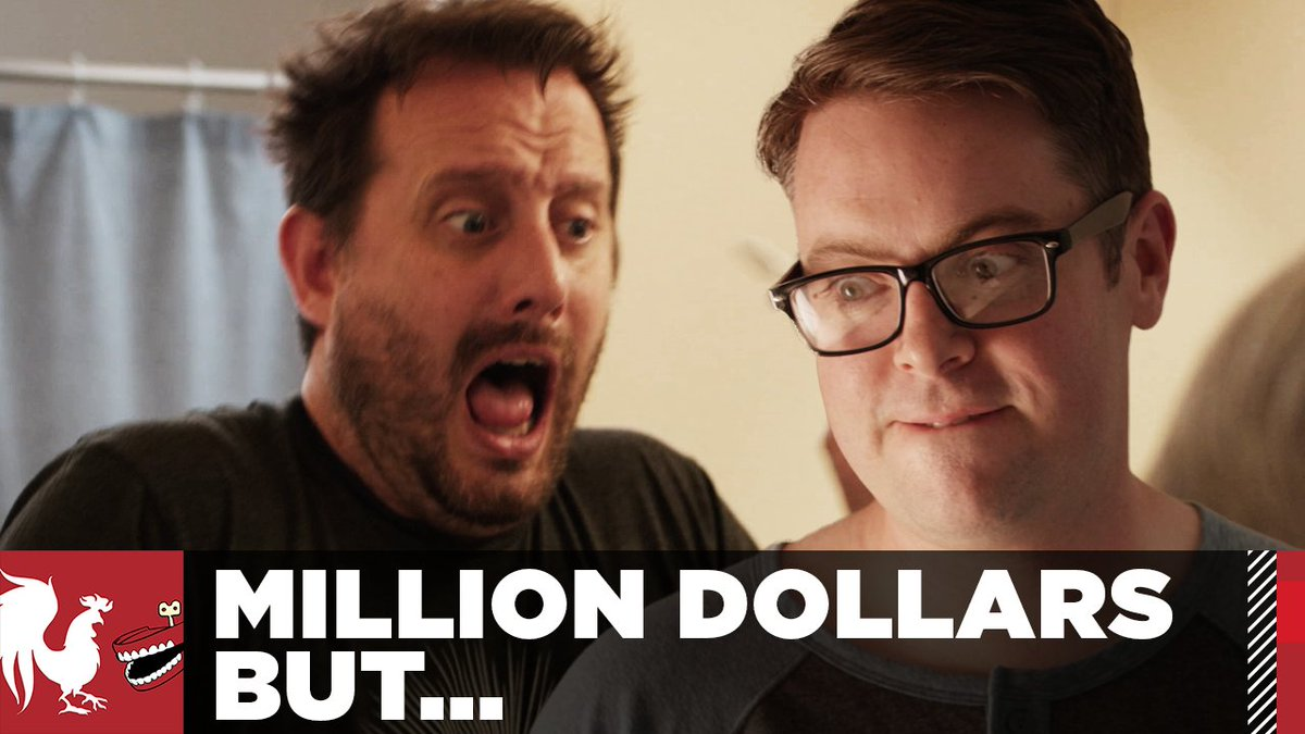 rooster teeth on twitter million dollars but everyday at