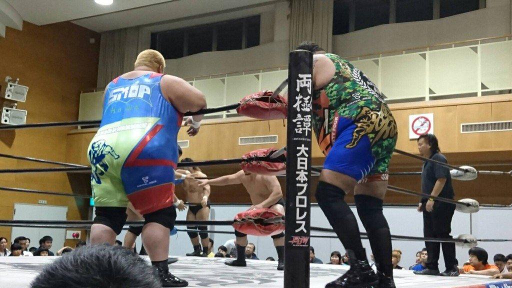 """BJW: Resultados """"Saikyou Tag League 2016"""" - 11,12 y 13/09/2016 - Kankuro Hoshino defiende su cetro 4"""
