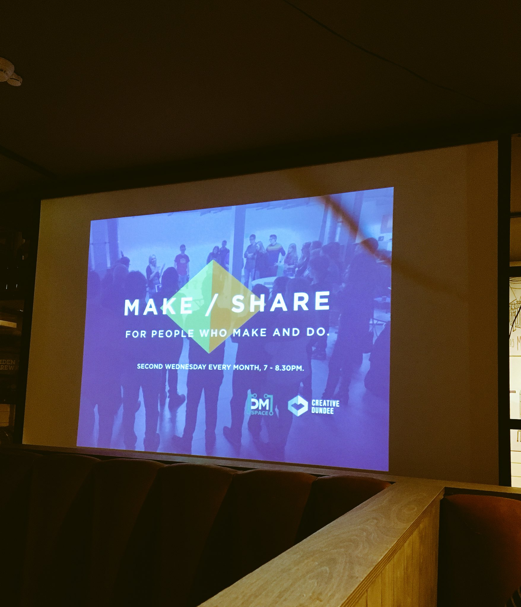 So inspiring to hear about design processes and upcoming projects at the #makeshare event tonight! #cbdsn https://t.co/63cAEHBDvz