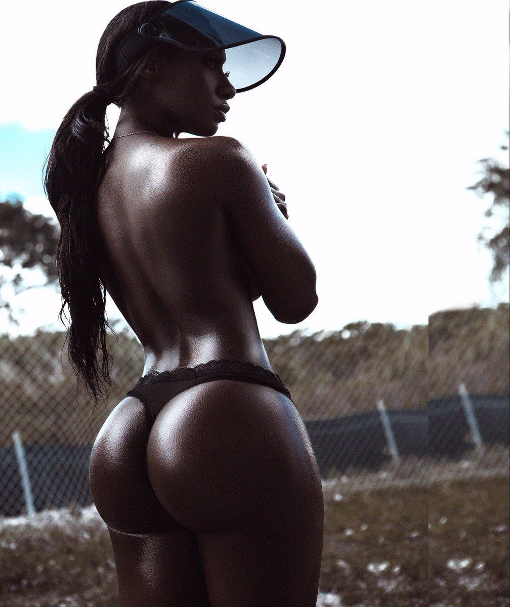 Big Booty Ebony Cum Ass