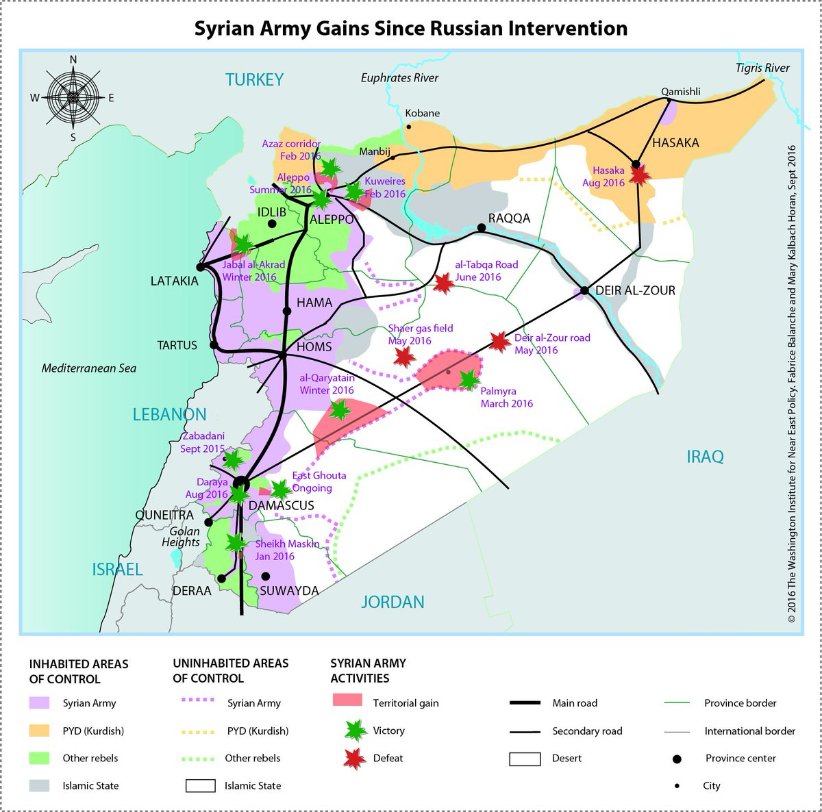 Map syrian army pro assad forces gains since russian map syrian army pro assad forces gains since russian intervention gumiabroncs Choice Image