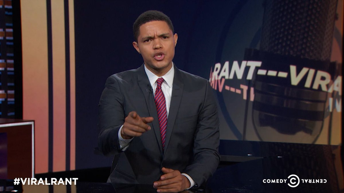 The Daily Show's Trevor Noah unleashes the anti-Trump rant you've been waiting for