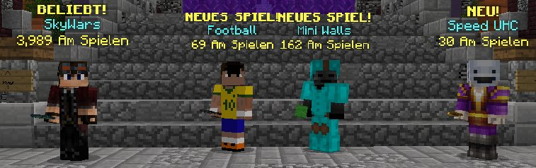 Hypixel Server On Twitter With This Update Hypixel Now Supports - Minecraft skywars spiele