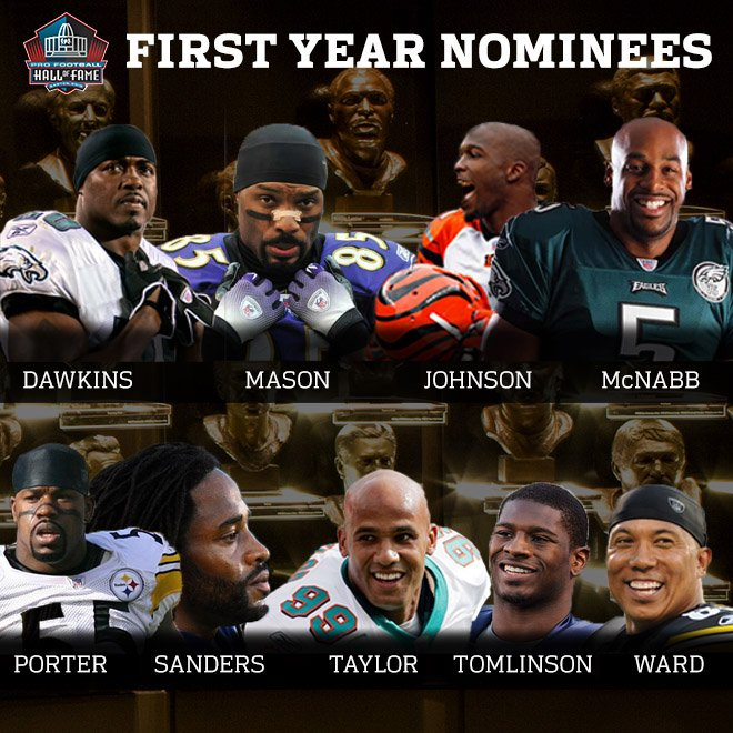 First-Year Nominees for the Class of 2017 #PFHOF17