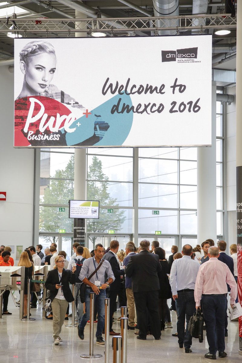 Good Morning everybody and welcome to the Show of #dmexco Day 2! https://t.co/TjC1Ijmr2o