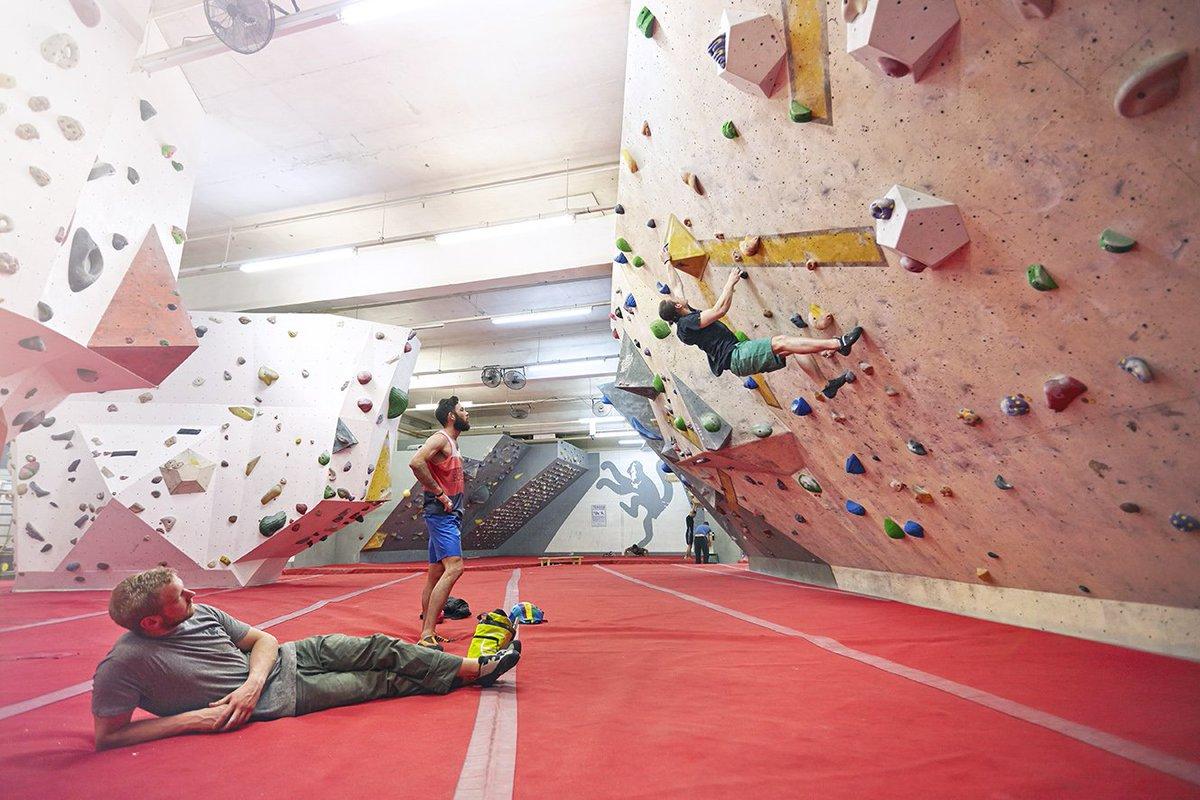 arch climbing wall