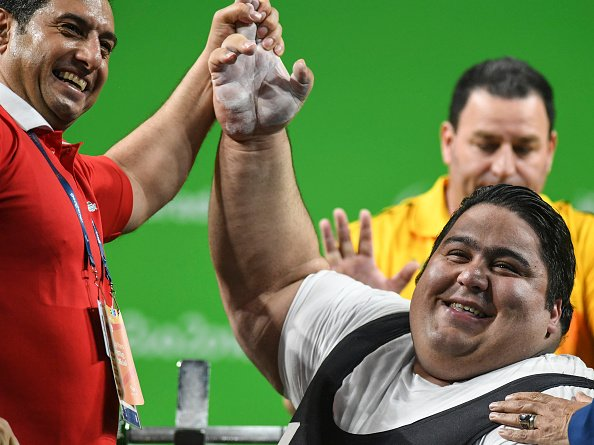 paralympic games on twitter iran s siamand rahman 310 wr lift