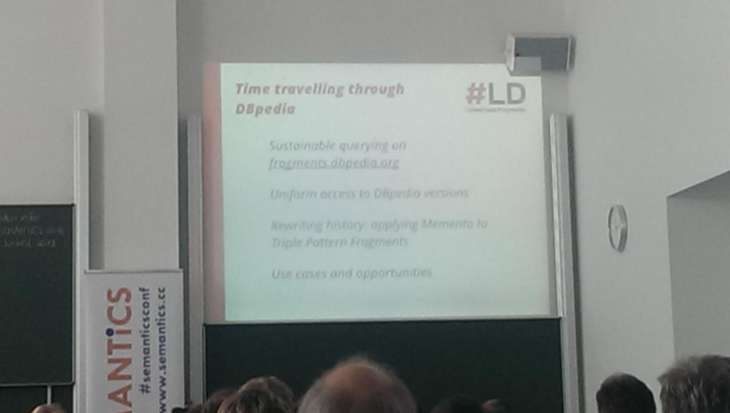 Cool, I always wanted to learn to timetravel :) #semanticsconf https://t.co/speXGJBdTR