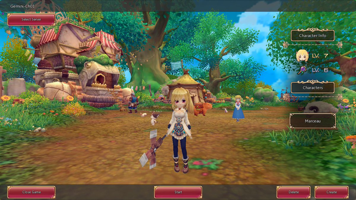 Sekui On Twitter My Kawaii Character In New Anime MMORPG Twin Saga If Somebody Want To Play With Me Feel Free Contact