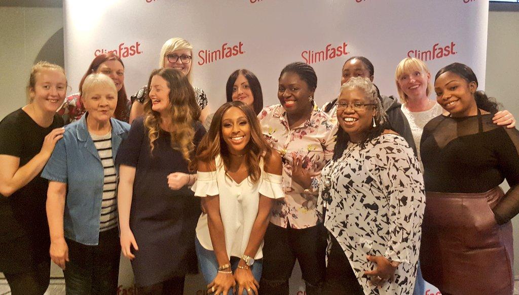RT @SlimFastUK: What brilliant ladies. True #SlimFastStars, all of them. Thanks for a great day, from us & @alexandramusic https://t.co/0Dv…