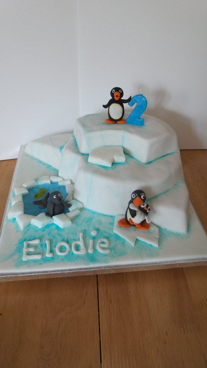 Pingu cake x please rt x https://t.co/CF3gkKnKqO