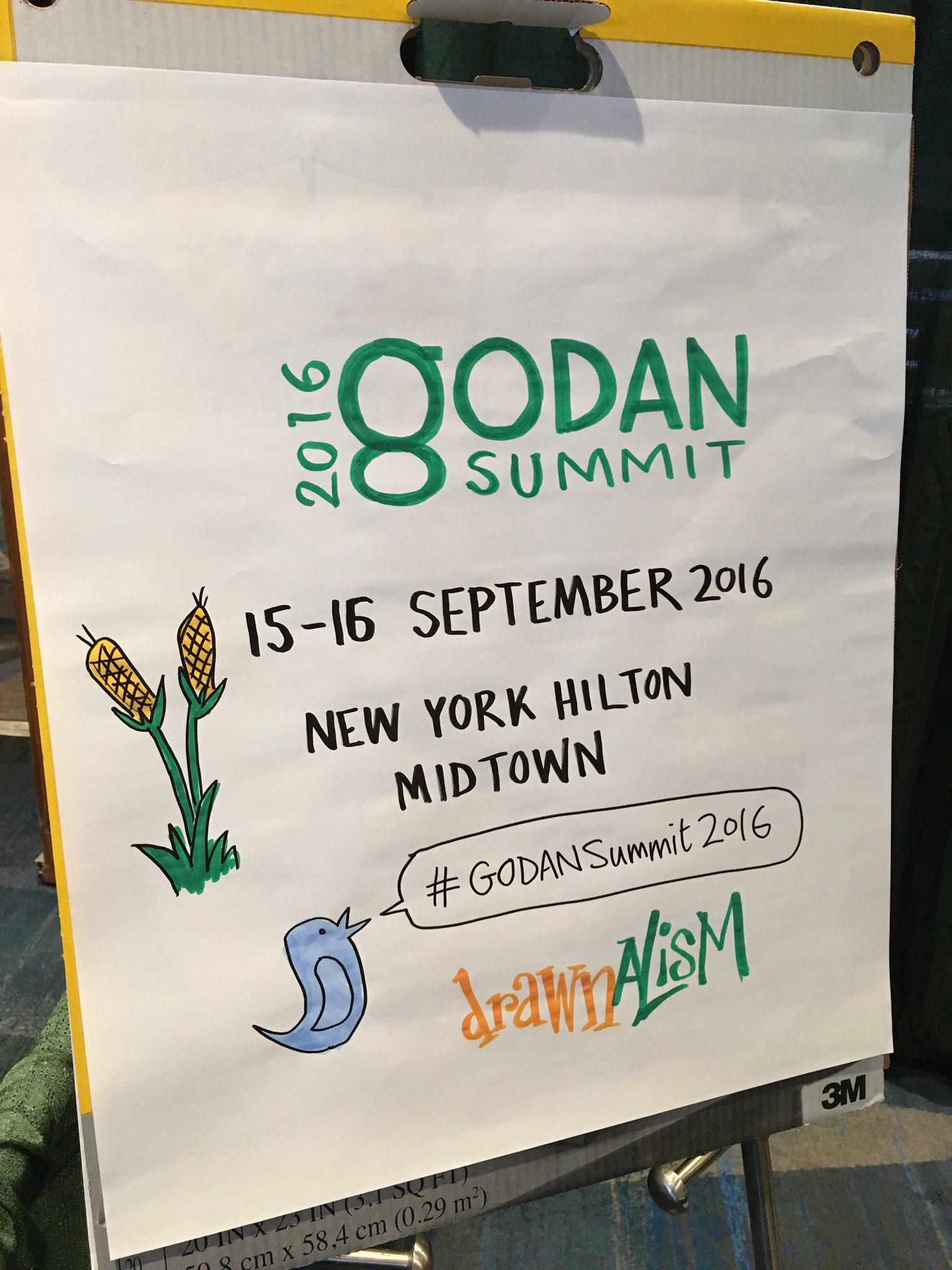 Just a few minutes away from the opening plenary #GODANSummit2016 https://t.co/opKHPSxAeN
