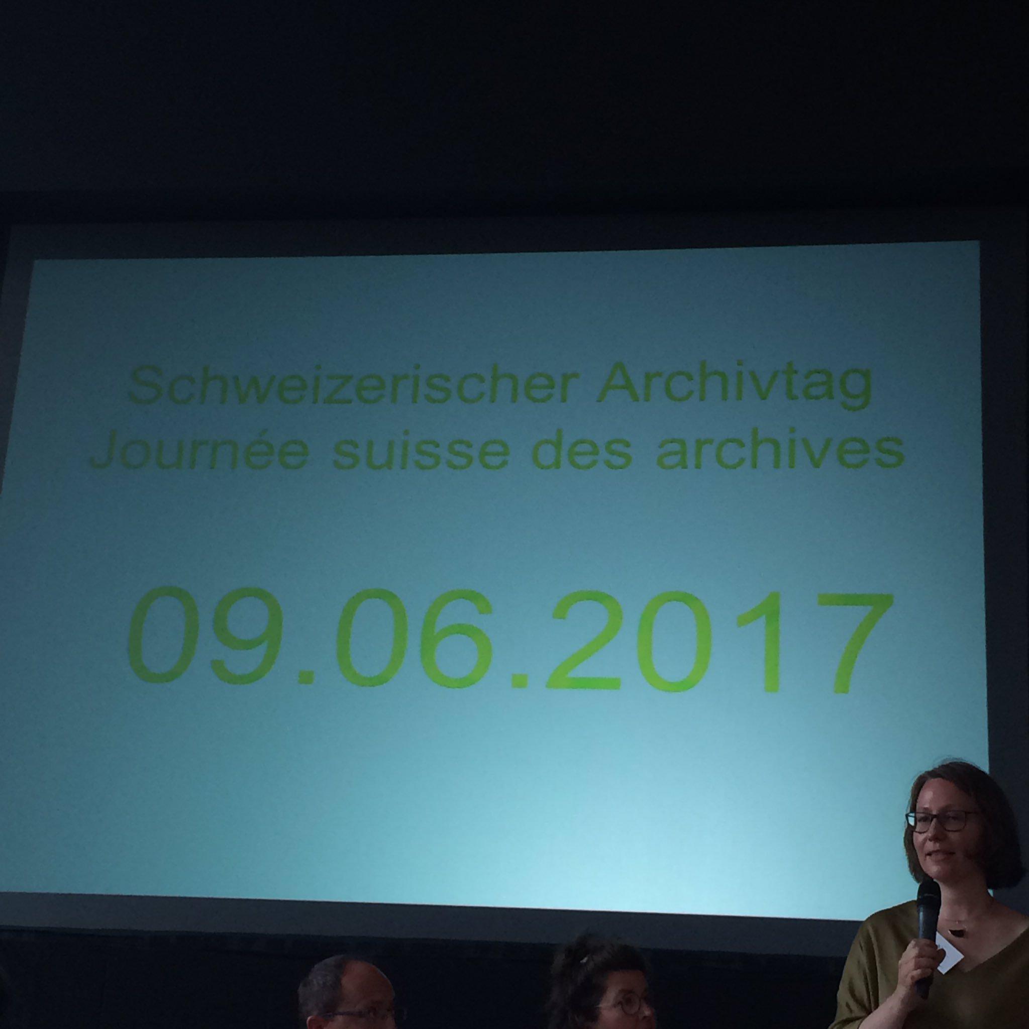 9 juin 2017: journée suisse  des archives - Linked / Open data (ça tombe bien #demain )  #archivCH https://t.co/tu1YYYpCN9