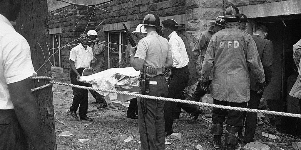 5 girls in alabama church bombing The four young girls who were killed when their church was bombed by a white supremacist 50 years ago were remembered the bombing of the 16th street baptist church in birmingham, alabama changed.