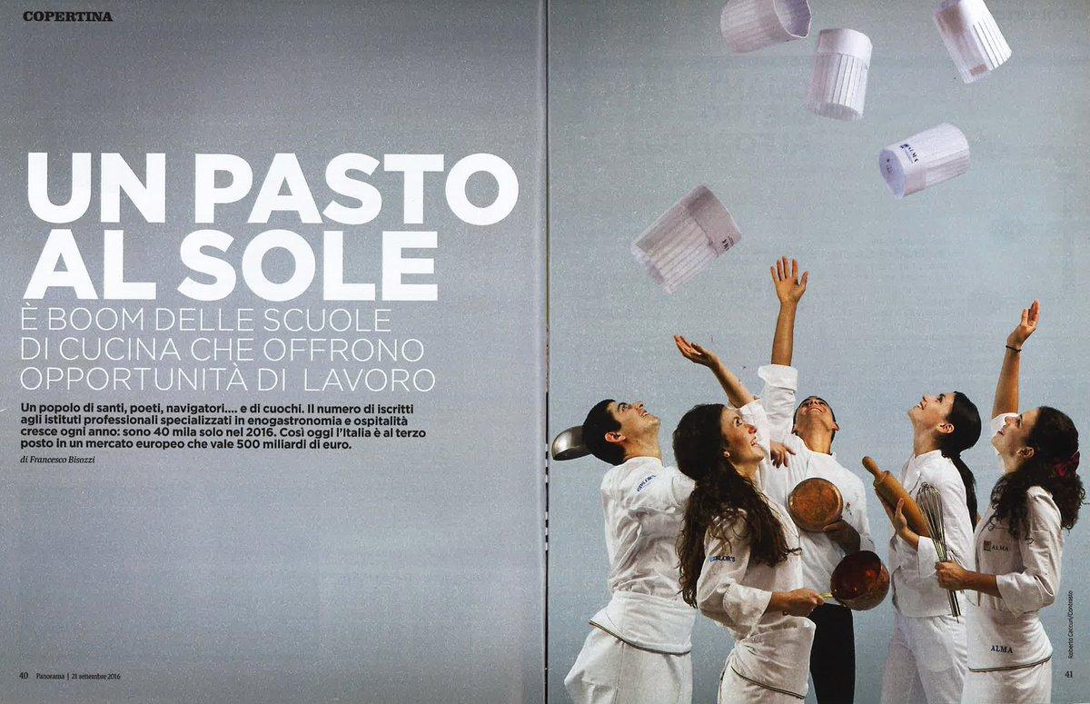 alma scuola cucina on twitter copertina almaschool per il numero panorama_it dedicato alle migliori scuole di cucina ditalia