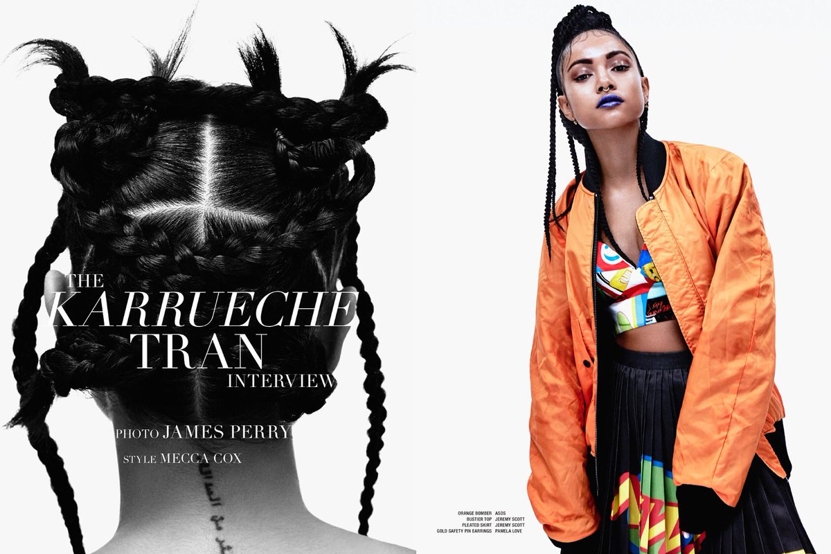 BLOWN away by the stunning photo spread of @karrueche in @vvvmagazine. So lucky to have her star on @TheBaytheseries https://t.co/cGNQ8Evlc5