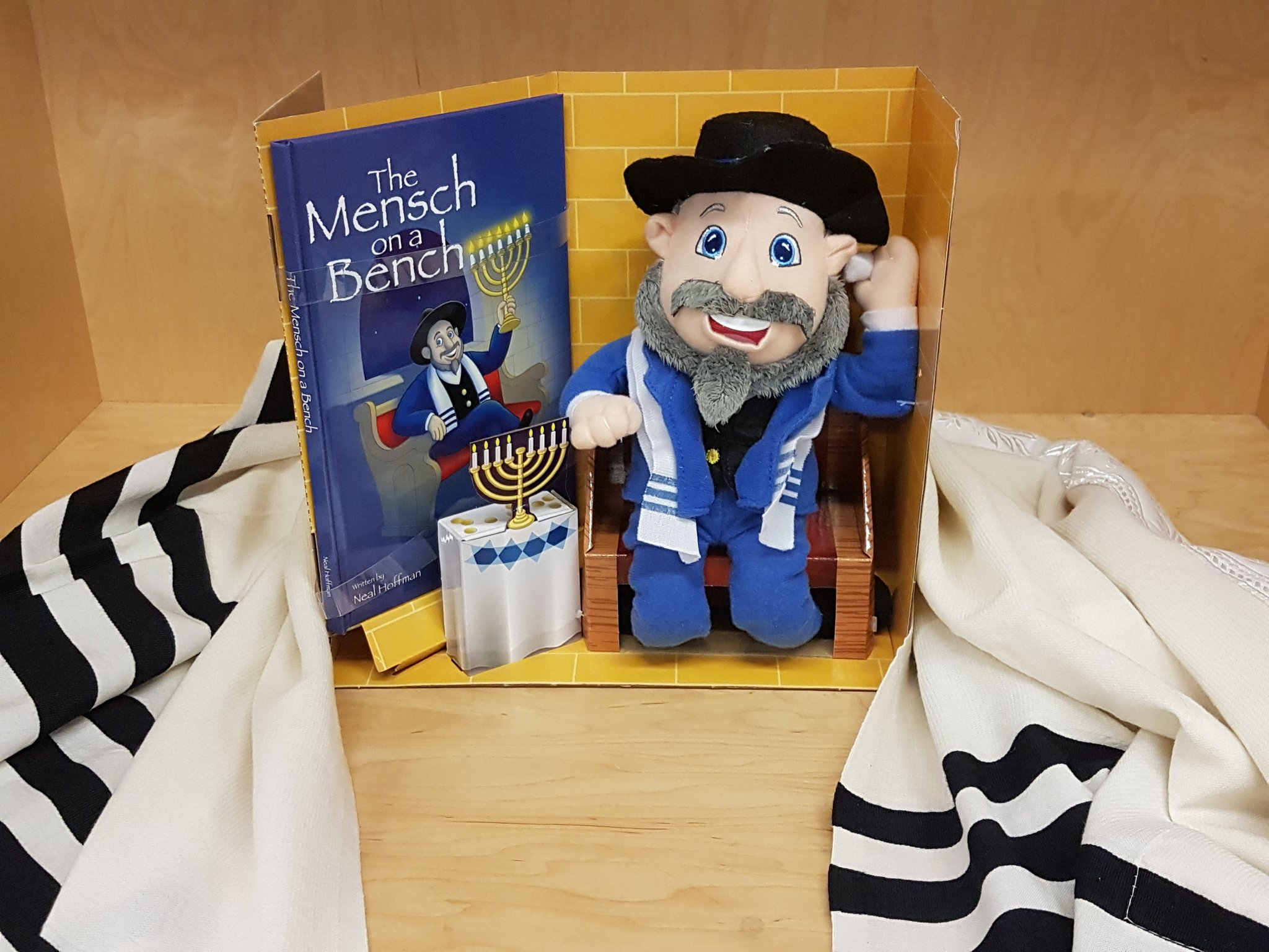 Israel Baseball on Twitter Team Israel mascot The Mensch in a