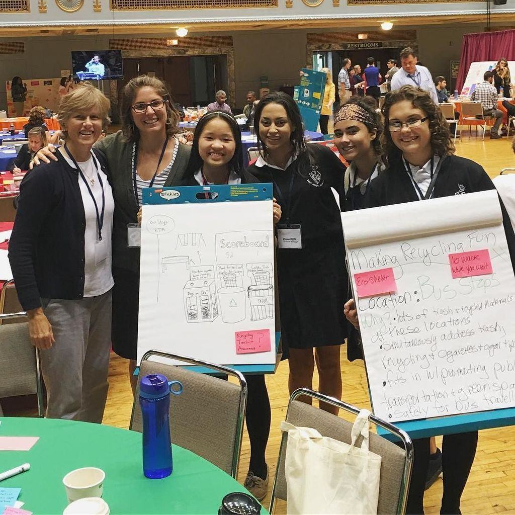 Brainstorming ways to reduce plastic pollution at the Cleveland Sustainability Summit. #oh… https://t.co/OxmdVfXVFg https://t.co/r4xERSygEc