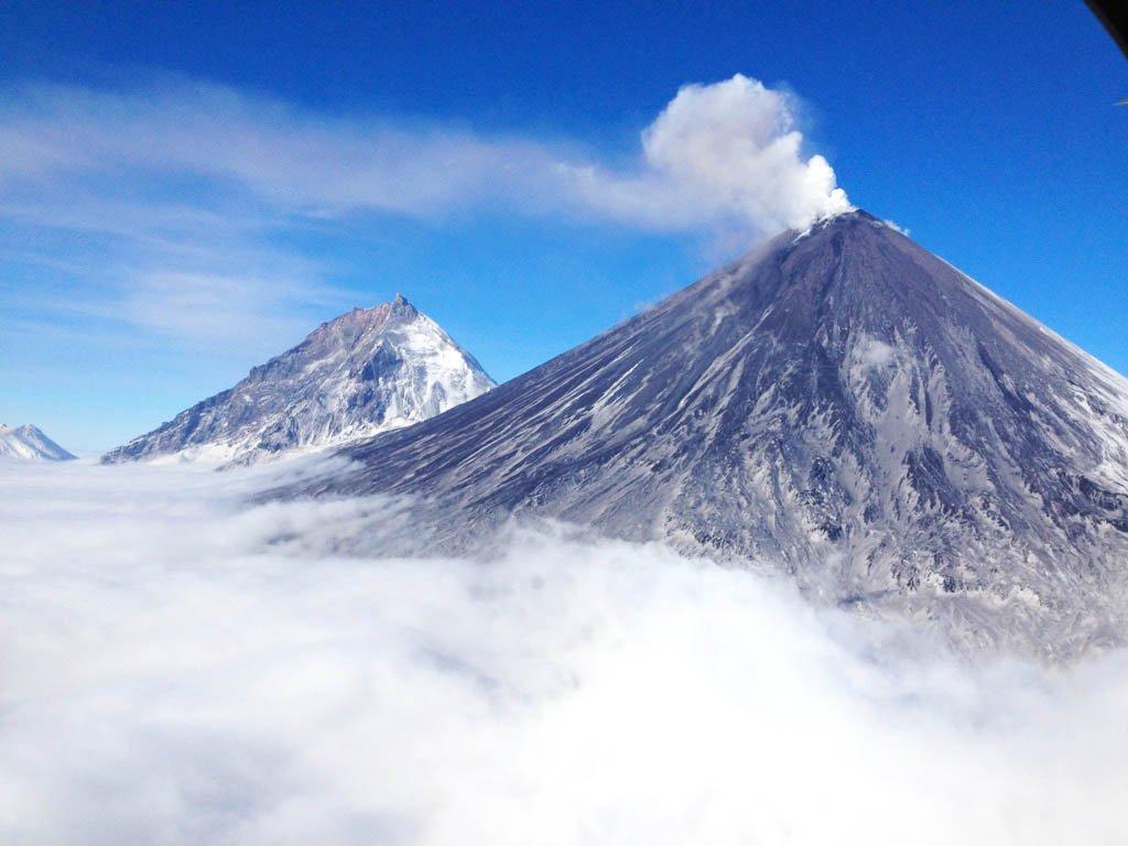 когда камчатка вулканы фото ключевская сопка тема комусь