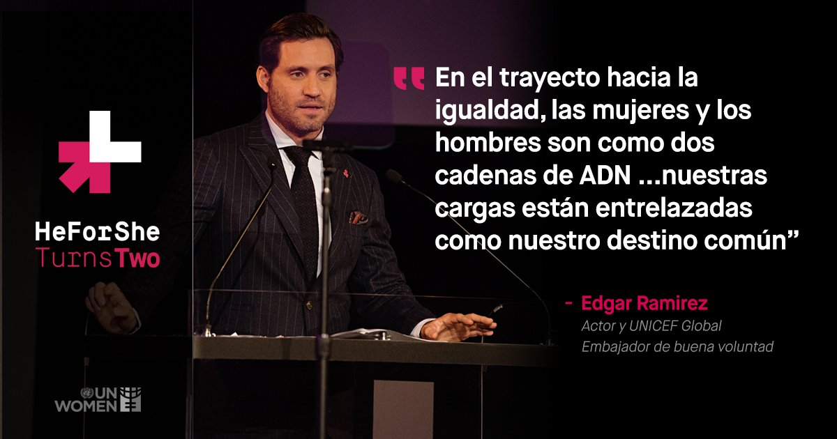 heforshe on twitter powerful quote from edgarramirez25