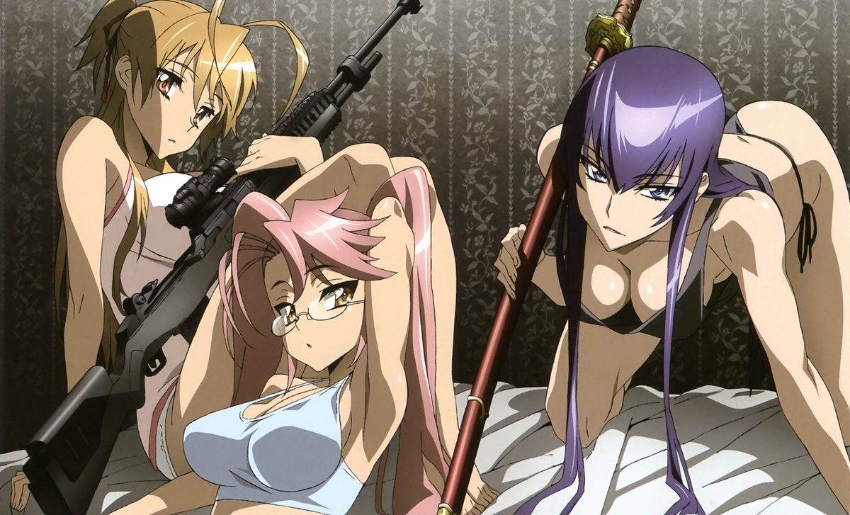 Randomboard On Twitter Wallpaper Manga Highschool Of The