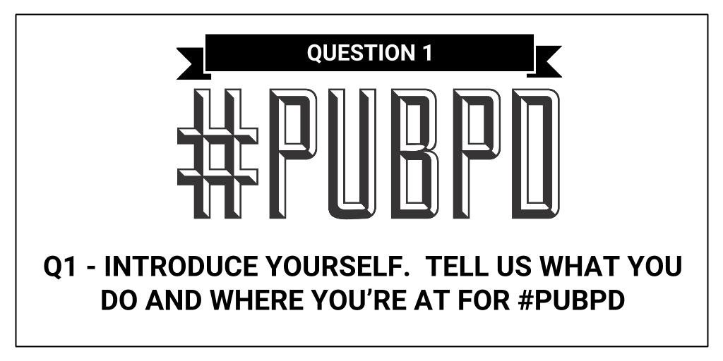 Okay everyone!  Welcome to another #pubPD!  @MapleSyrupEDU is glad you joined us!  First Question: https://t.co/gVNjnEKZIn