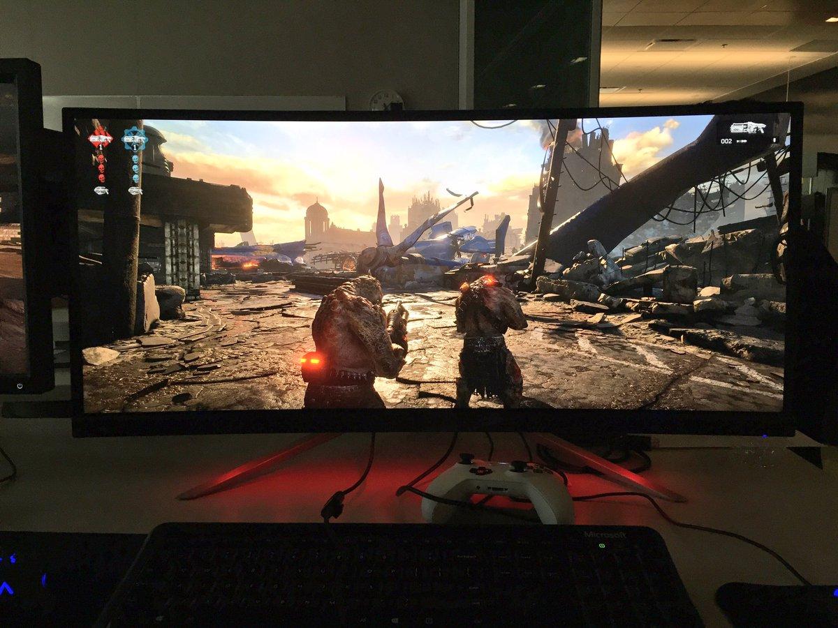 Gears Of War 4 Ultrawide: GEARS 4 On An ULTRAWIDE Monitor : GearsOfWar