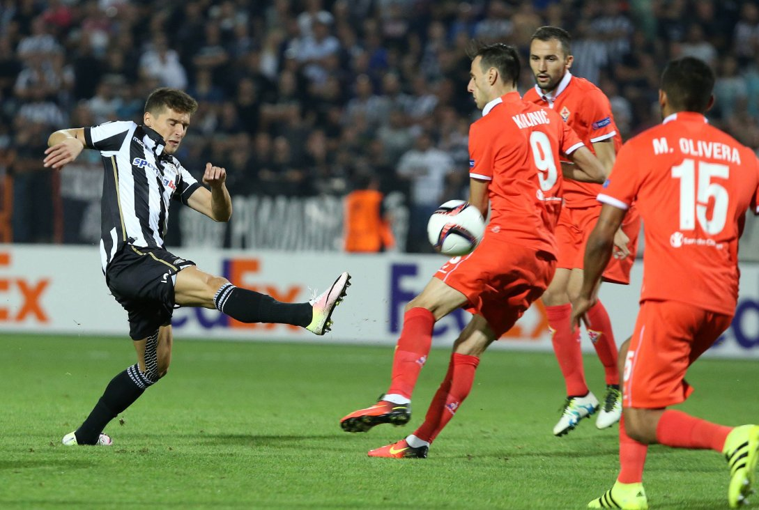 Europa League: PAOK-FIORENTINA è terminata 0-0, senza emozioni