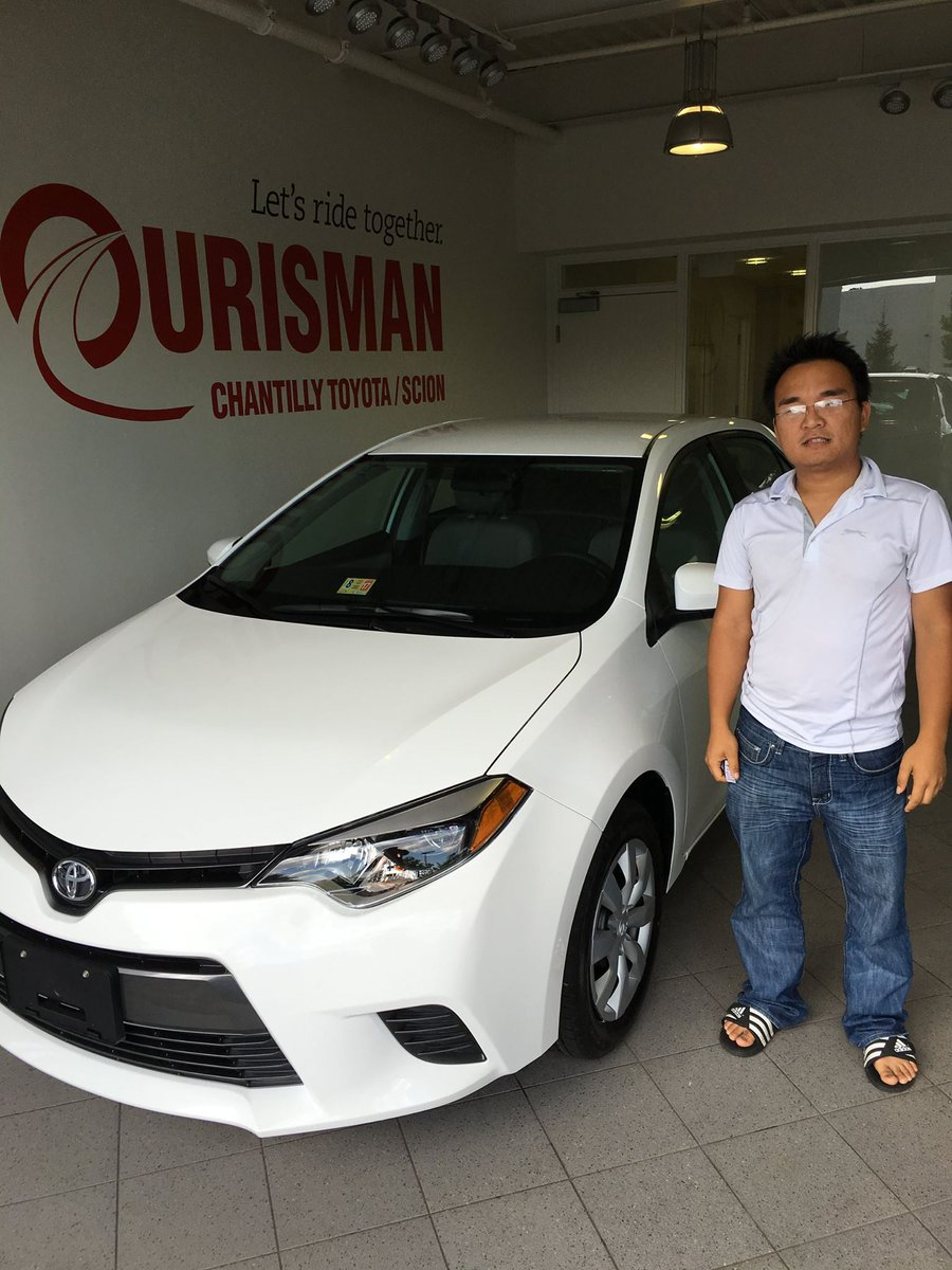 Ourisman Toyota Chantilly >> Ourisman Toyota On Twitter Lien Pham Just Purchased A New