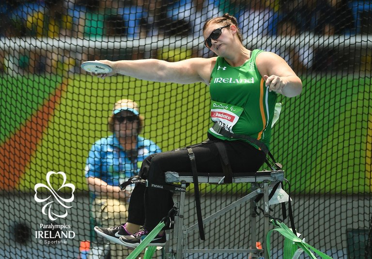 MEDAL ALERT: Orla Barry has won Silver in the F57 Discus Final with a throw of 30.06 #TeamIreland #MoreThanSport