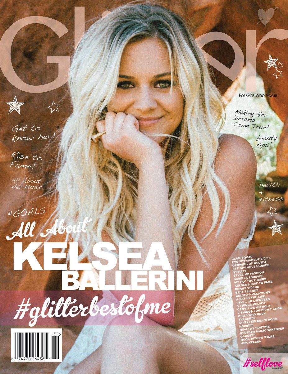 Get Q's answered by @KelseaBallerini in her #GlitterBestOfMe issue! Use #AskKelsea #GlitterBestOfMe #GlitterMagazine